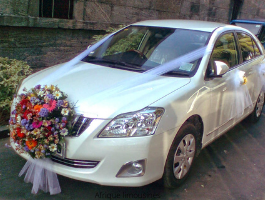 Toyota Premio Wedding Car