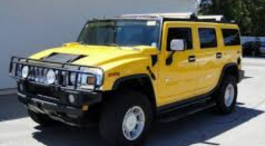 HUMMER 4 BY 4 JEEP